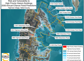 VPC presents Flooding and Sea-Level Change findings to Talbot County Board of County Commissioners