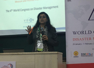 VPC Presents at the 4th World Congress on Disaster Management