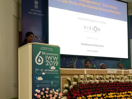 VPC Presents at the 2019 India Water Week Conference in New Delhi