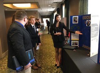 VPC President Serves as Judge at Maryland DECA Conference