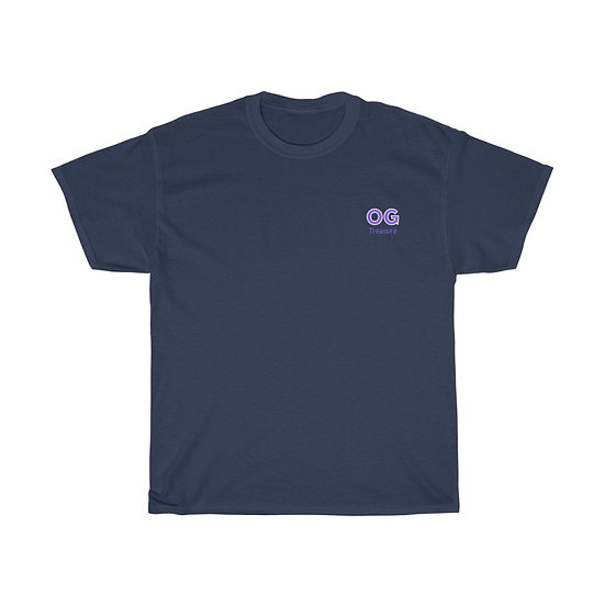Purple Bold OG Pocket Logo Tee