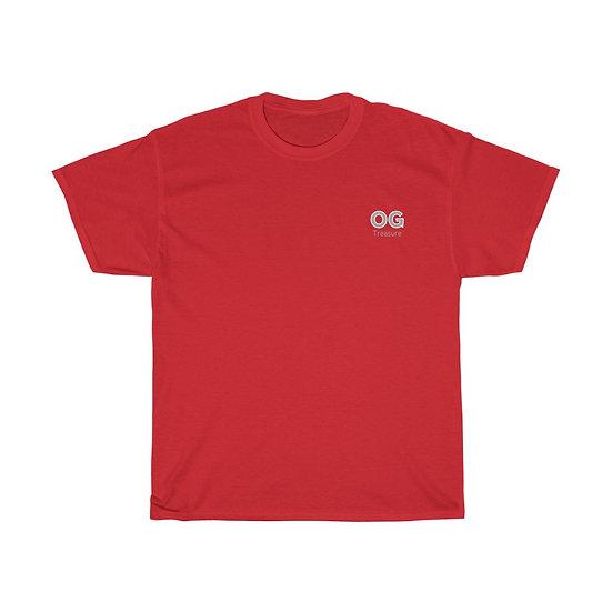 Grey Bold OG Pocket Logo Tee