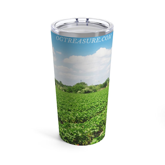 Grass Land Stainless Steel Tumbler 20oz
