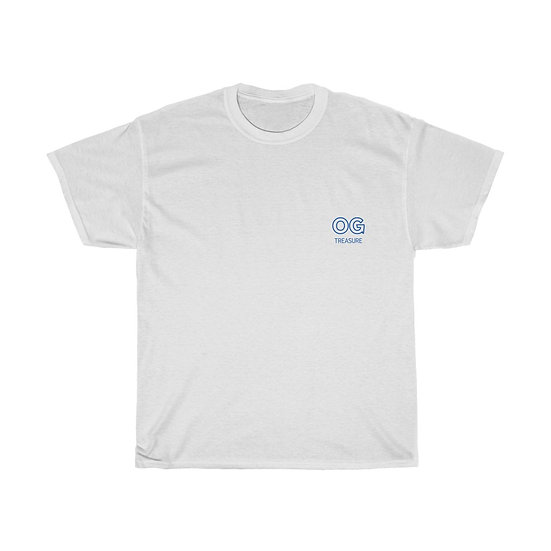 Blue Outline OG Pocket Logo Tee