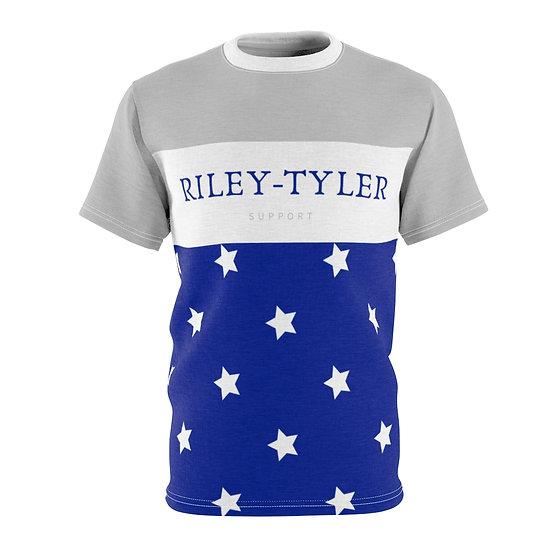 Riley Tyler Cool Blue Unisex Tee