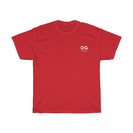 White Bold OG Pocket Logo Tee