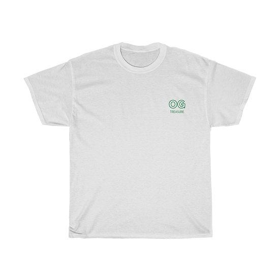 Green Outline OG Pocket Logo Tee