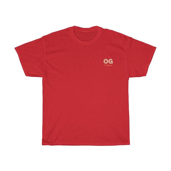 Orange Bold OG Pocket Logo Tee