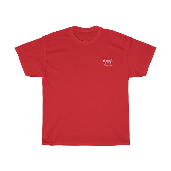 White Outline OG Pocket Logo Tee