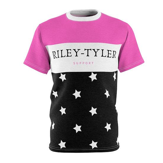 Riley Tyler Hard Pink Unisex Tee