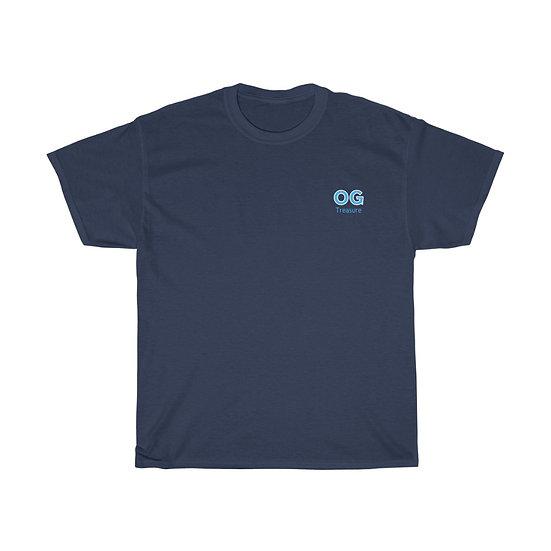 Blue Bold OG Pocket Logo Tee