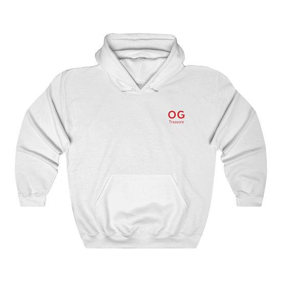 Red Bold OG Pocket Logo Hooded Sweatshirt