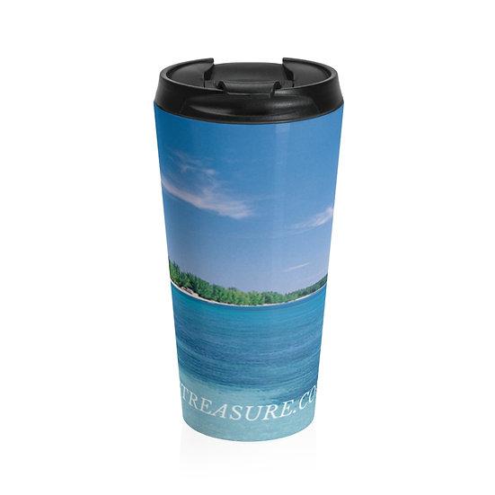 Ocean Vibes Stainless Steel Travel Mug 20oz