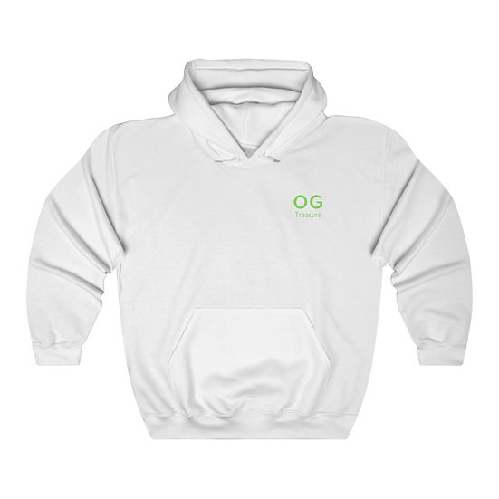 Green Bold OG Pocket Logo Hooded Sweatshirt