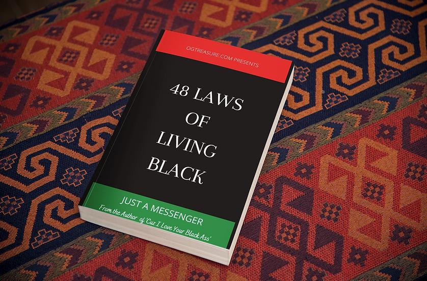 48 LAWS OF LIVING BLACK E-BOOK