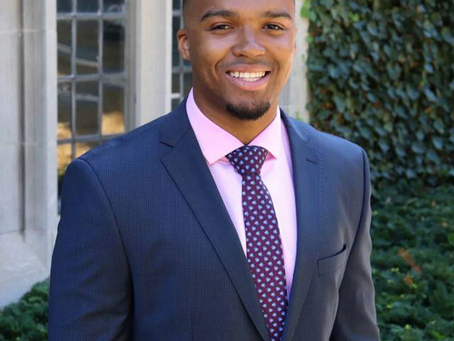 SHOUT OUT: NICHOLAS JOHNSON BECOMING THE FIRST BLACK VALEDICTORIAN OF PRINCETON UNIVERSITY.