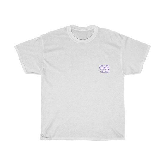 Purple Outline OG Pocket Logo Tee