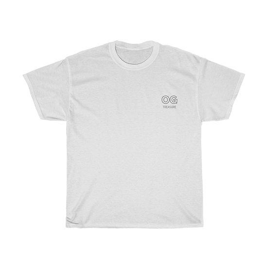 Grey Outline OG Pocket Logo Tee
