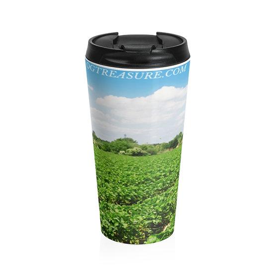 Grass Land Stainless Steel Travel Mug 20oz