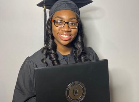 SHOUT OUT: DOROTHY TILLMAN For Receiving Her Master's Degree at 14.