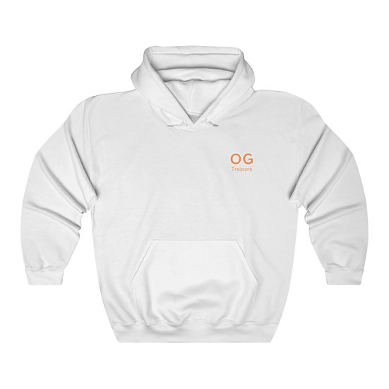 Orange Bold OG Pocket Logo Hooded Sweatshirt