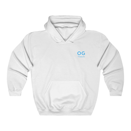 Blue Bold OG Pocket Logo Hooded Sweatshirt