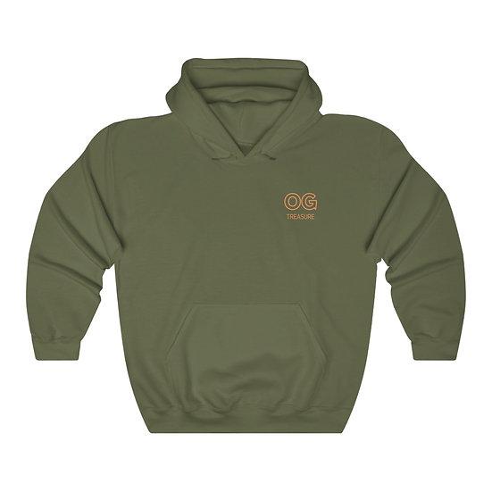 Orange Outline OG Logo Hooded Sweatshirt
