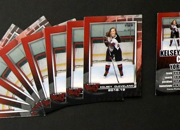 T - 9 Trading Cards