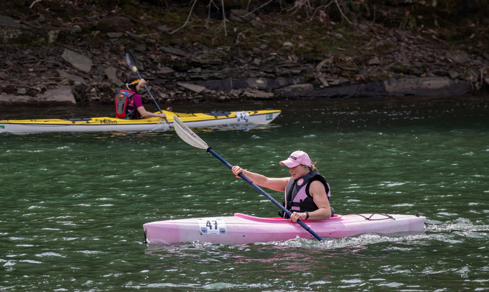 2021 linda wright first place in kayak w
