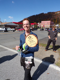 top male finisher 50k