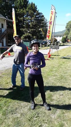 sarah batson 1st place female 26 mile 20