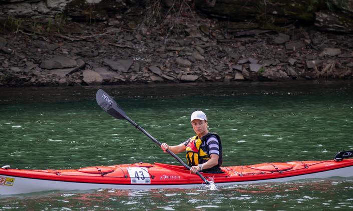 2021 first place women kayak long angela