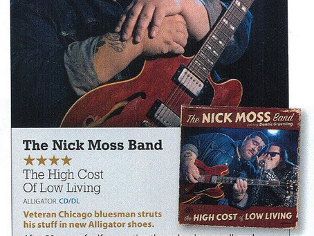 """High Cost of Low Living"" - 4 Stars in Mojo (UK)"