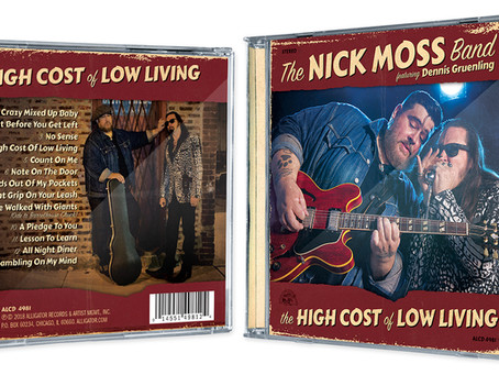 "NMB's ""High Cost of Low Living"" Nominated for 2019 Living Blues Award - VOTE!"