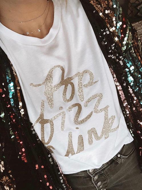Pop Fizz Clink Graphic T-shirt