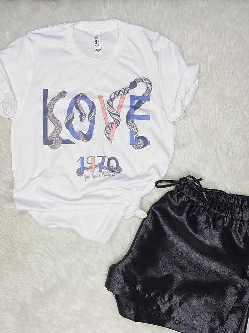 VintageLoveYSL Graphic T-shirt ( Vintage Feel )
