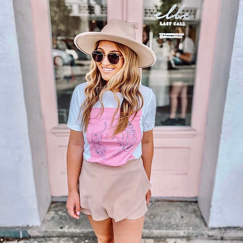 Pretty in Pink T-shirt (Vintage Feel)