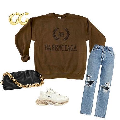 BABEnciaga Sweatshirt ( Vintage Feel )