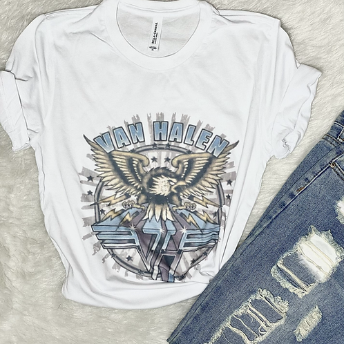 Van Halen Graphic T-shirt ( Vintage Feel ) Band Tee