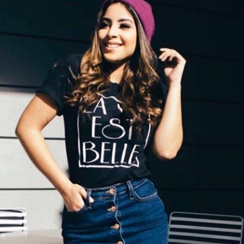 La Vie Est Belle Graphic T-shirt