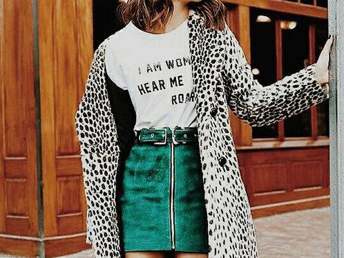 I Am Woman, Hear Me Roar Graphic T-shirt