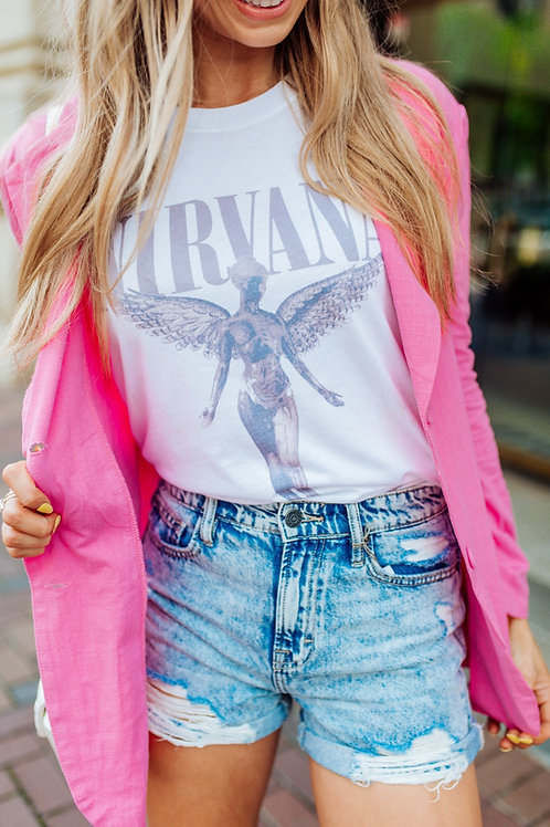 Angel Wings Graphic T-shirt ( Vintage Feel )