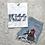 Thumbnail: Kisses Graphic T-shirt ( Vintage Feel ) Band Tee