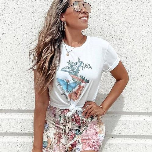 Butterfly Kisses T-shirt (Vintage Feel)