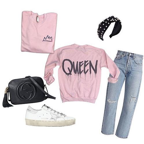 Queen Sweatshirt ( Vintage Feel )
