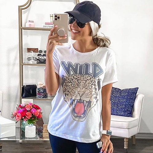 WILD  Graphic T-shirt ( Vintage Feel ) Band Tee