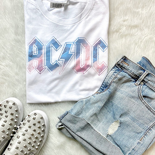ACDC Graphic T-shirt ( Vintage Feel )
