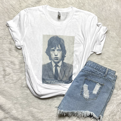 MP Jagger Graphic T-shirt ( Vintage Feel ) Band Tee