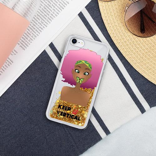 Speak No Evil Liquid Glitter Phone Case
