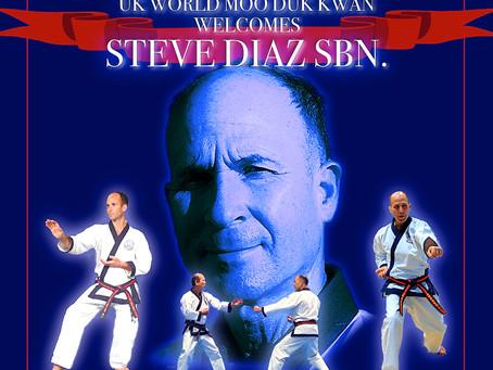 Steve Diaz SBN with Kwan Jang Nim.